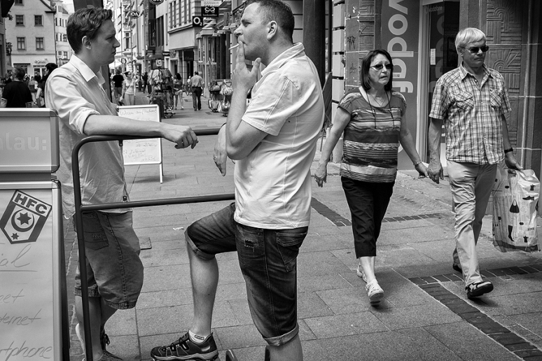 Street Photography Halle a.d. Saale Nikon 1 V1
